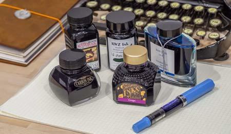 fountain ink vs dip ink