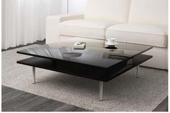 IKEA Tofteryd Coffee Table High Gloss Black
