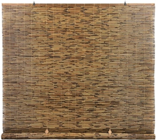 Radiance Cord Free Roll up Reed Shade