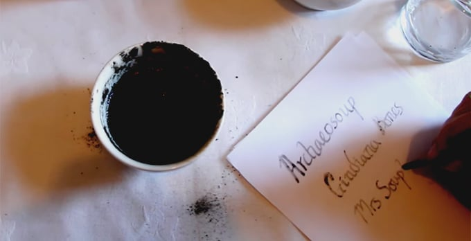 how to make ink from charcoal info