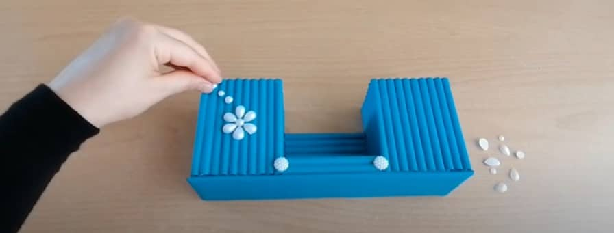 painting how to make a pen holder with paper
