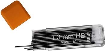Bild Premium Mechanical Pencil Lead Refills (HB, 1.3 mm)