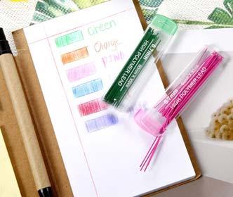 Jovitec Color Lead Refill Colored Pencils Lead