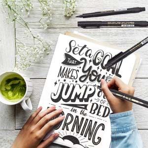 MISULOVE Hand Lettering Pens