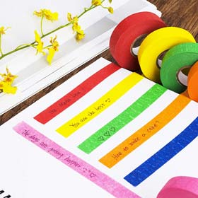Mr. Pen- Colored Masking Tape, Colored Painters Tape for Arts and Crafts