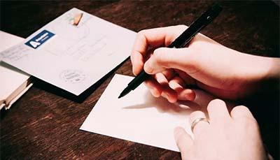 best pen for addressing wedding invitations