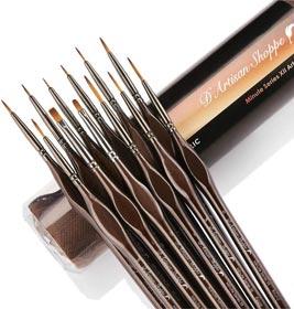 Miniature Paint Brushes Detail Set