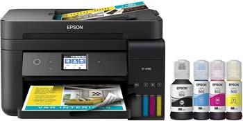 Epson EcoTank ET-4760 Wireless Color All-in-One Cartridge-Free Supertank Printer