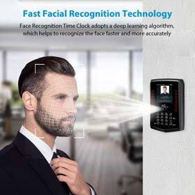 Face Recognition Time Clock NGTeco Biometric Time Clocks for Employees