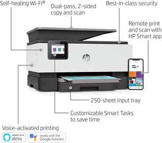 HP OfficeJet Pro 9015 All-in-One Wireless Printer