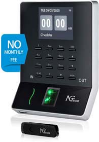 NGTeco Time Clocks for Employees Small Business