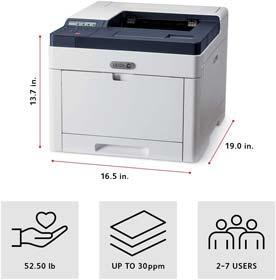 Xerox Phaser 6510 or DN Color Printer, Amazon Dash Replenishment Ready