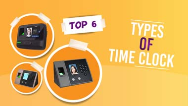 types of time clock