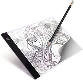 A4 LED Light Box Tracer Ultra-Thin USB Powered Portable Dimmable Brightness LED Artcraft Tracing Light Pad
