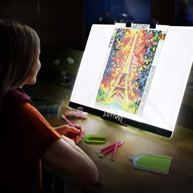 ARTDOT A2 LED Light Pad for Diamond Painting USB Powered Light Board Kit
