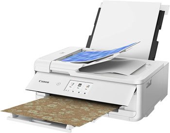 Canon TS9521C All-In-One Wireless Crafting Photo Printer 12X12 Printing