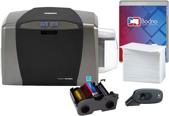 Fargo DTC1250e Single Sided ID Card Printer