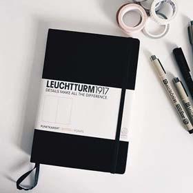 LEUCHTTURM1917 - Medium A5 Dotted Hardcover Notebook