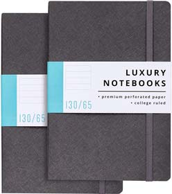 Luxury Lined Journal Notebooks- Journals For Writing