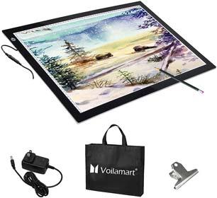 Voilamart A2 LED Tracing Board Light Box Light Pad Illumination Light Panel