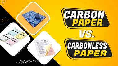 carbon vs. carbonless paper