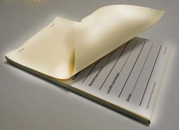 history of carbonless paper