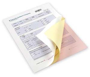 limitation of uses carbonless paper