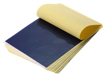 limitation of using carbon paper
