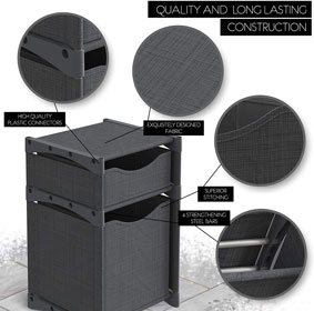 12 Cube Organizer   Set of Storage Cubes Included